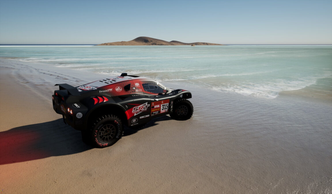 The first Dakar 21 game images shared look pretty good...