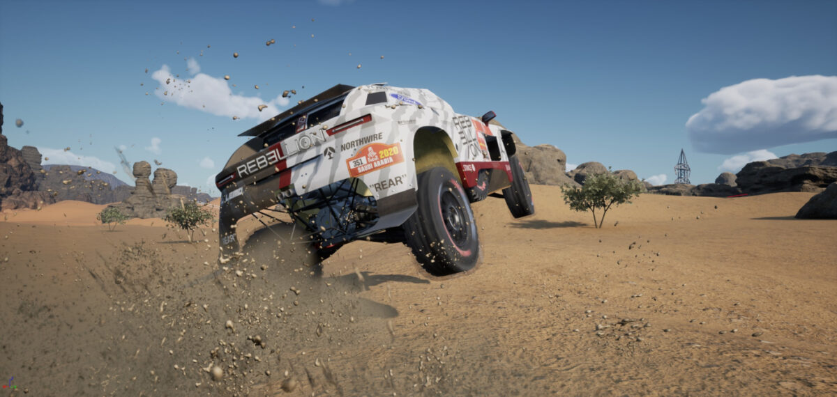 Another of the first Dakar 21 game images shared by Big Moon Studios