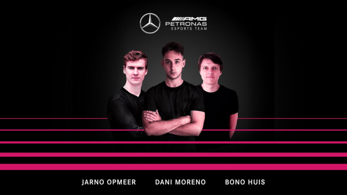 Mercedes Signs Jarno Opmeer for 2021 F1 Esports, driving alongside Dani Moreno and Bono Huis