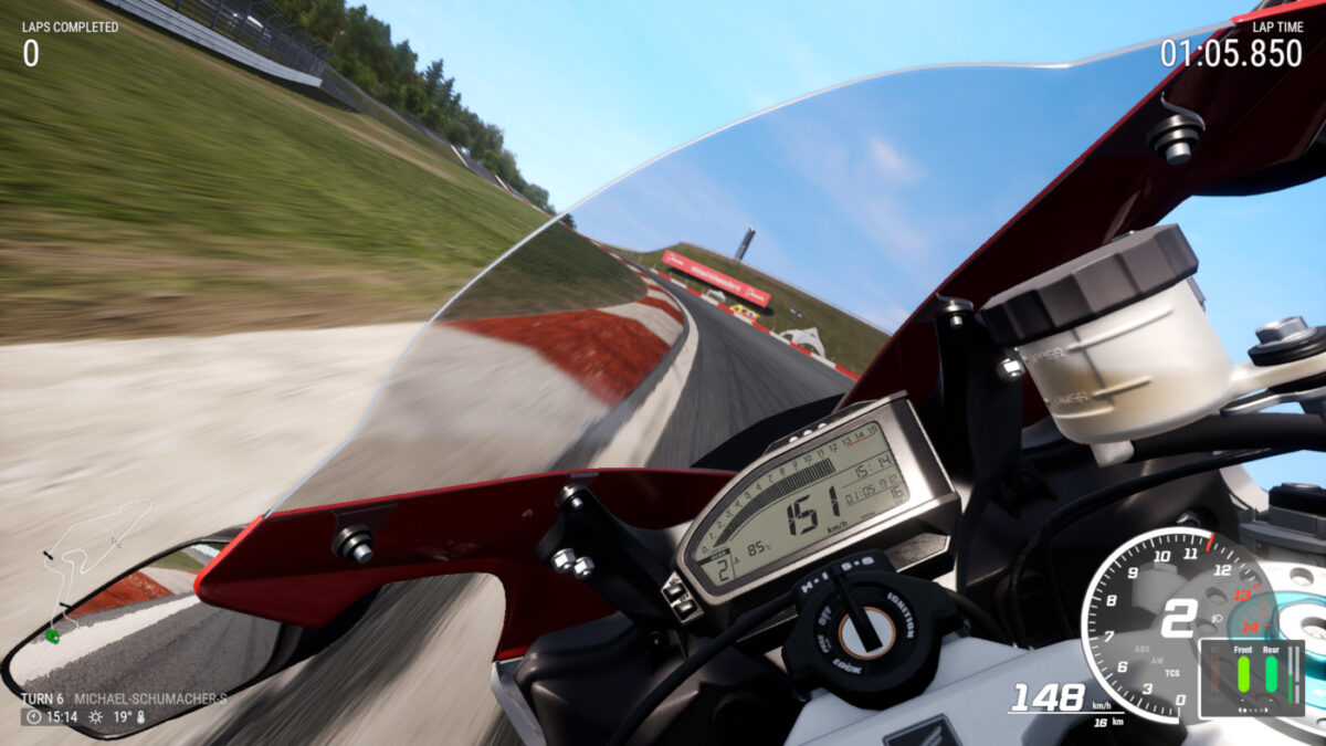 The free RIDE 4 Bonus Pack 03 adds the 2015 Honda Fireblade SP