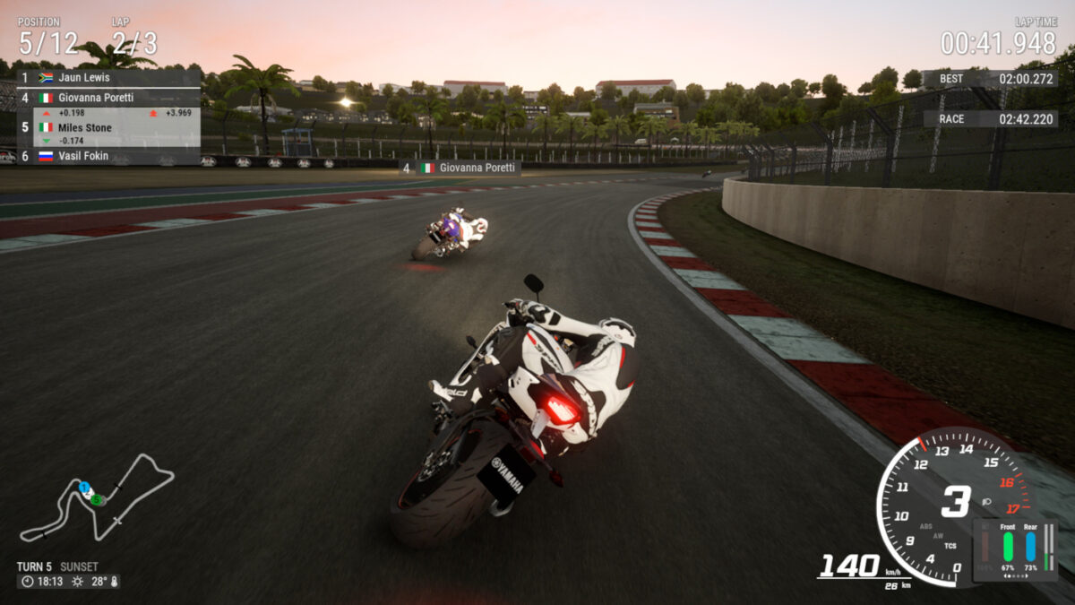 RIDE 4 now lets you ride into the night at Kyalami