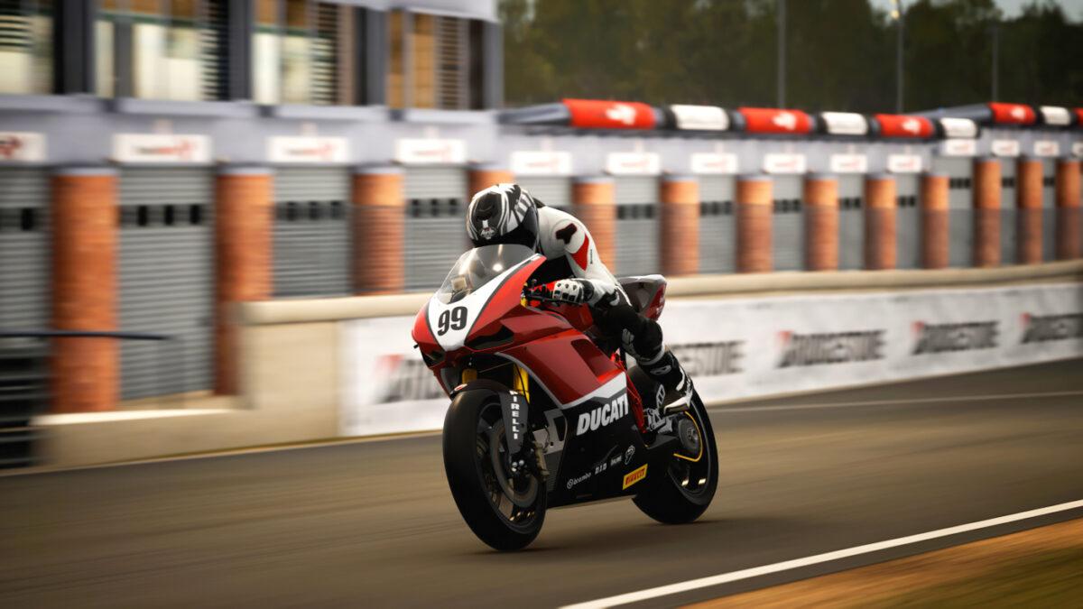The 2008 Ducati 1098R Racing Modified in RIDE 4