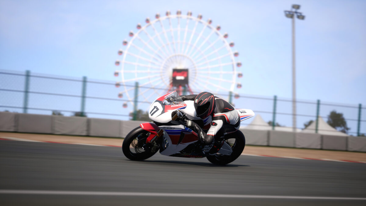 The 2008 Honda CBR1000RR Fireblade Racing Modified in the RIDE 4 Superbikes 2000 DLC Pack