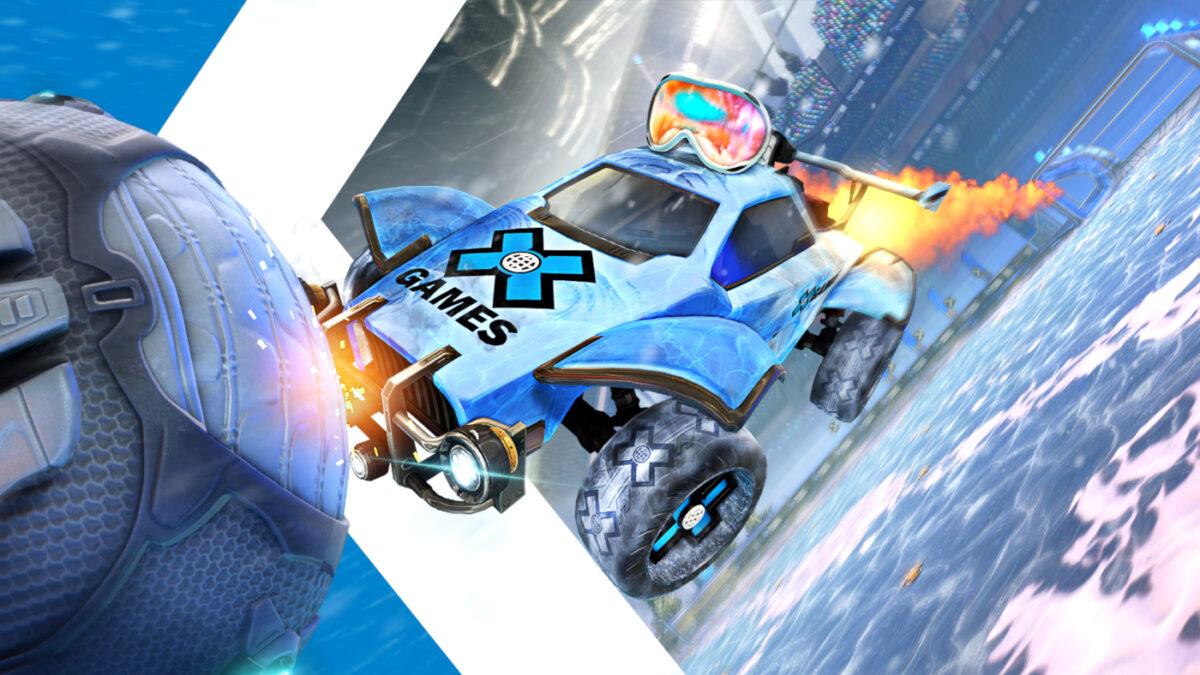 Rocket League 2021 X Games Aspen Limited Edition Items