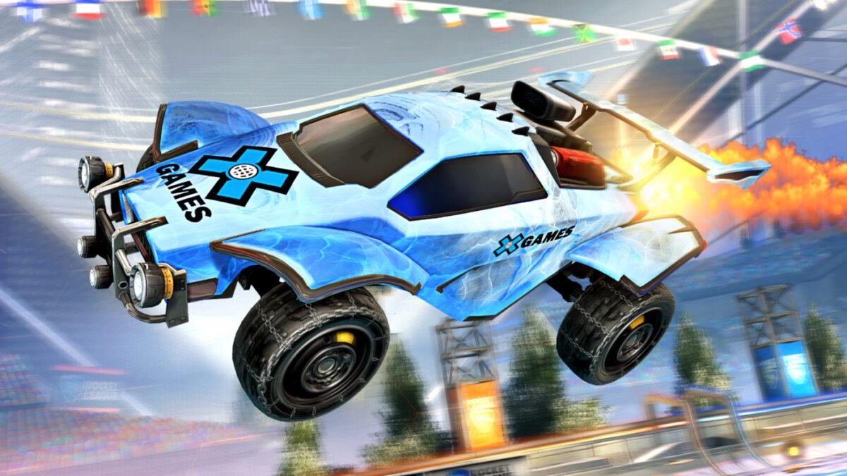 The X Games Aspen 2021 Octane Decal