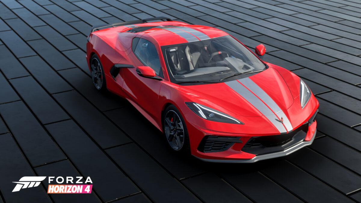 The Chevrolet Corvette C8 Arrives in Forza Horizon 4