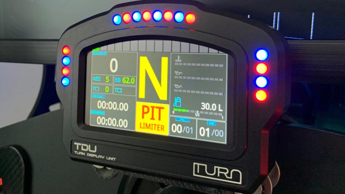 The Turn racing TDU Turn Display Unit has a USBD480 screen adn 16 RGB LEDs