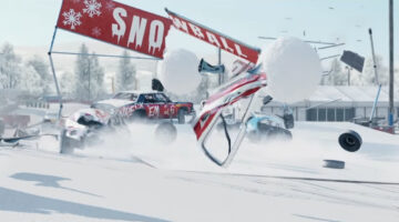Car carnage in the snow with the new Wreckfest Winter Fest Tournament and Update