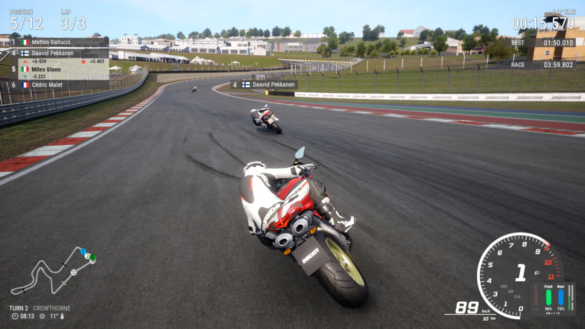 Race in South Africa, with the RIDE 4 Kyalami DLC released now