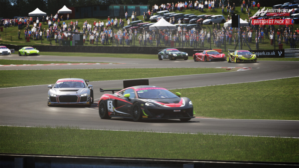 You will be able to recreate the British GT Championship in Assetto Corsa Competizione