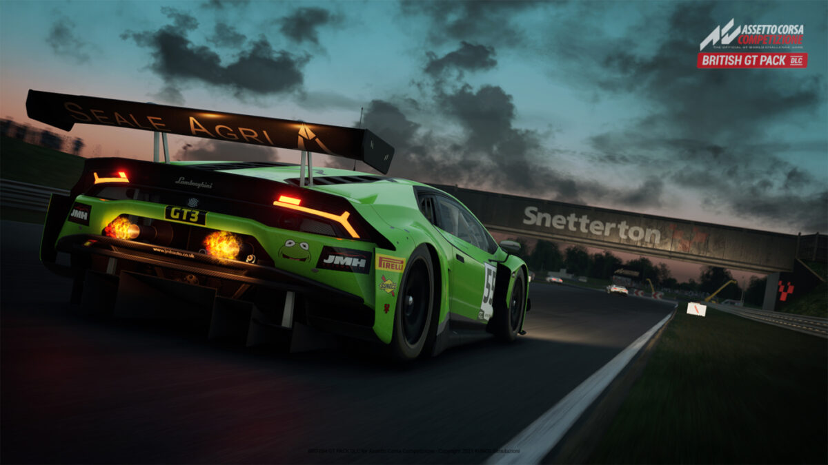 The GT3 and GT4 cars should have fun as Snetterton in Assetto Corsa Competizione