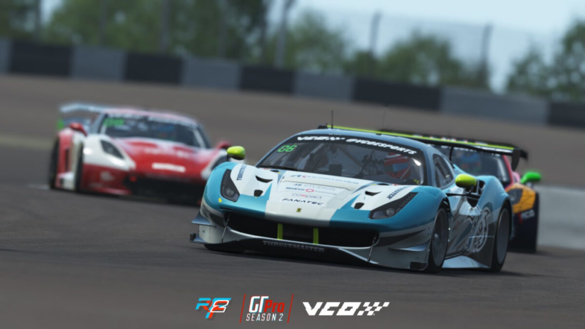 A big rFactor 2 GT3 Balance of Performance update has now been released