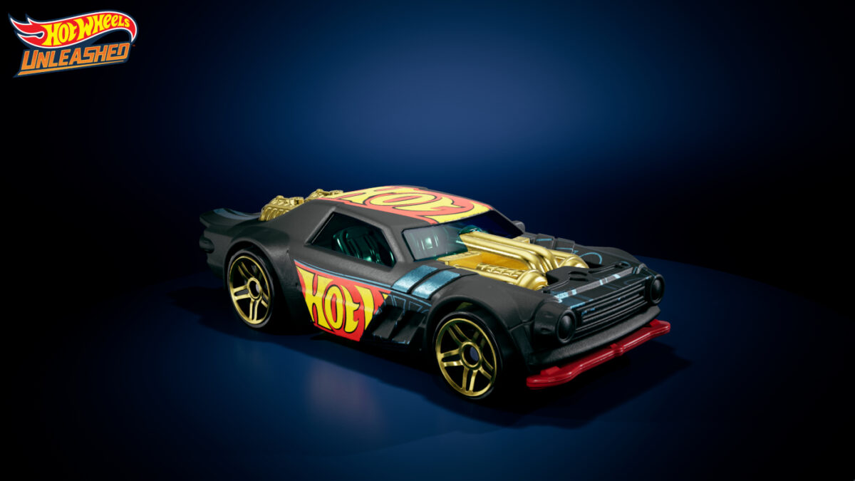 One of the Hot Wheels models being brough to life in Hot Wheels Unleashed...