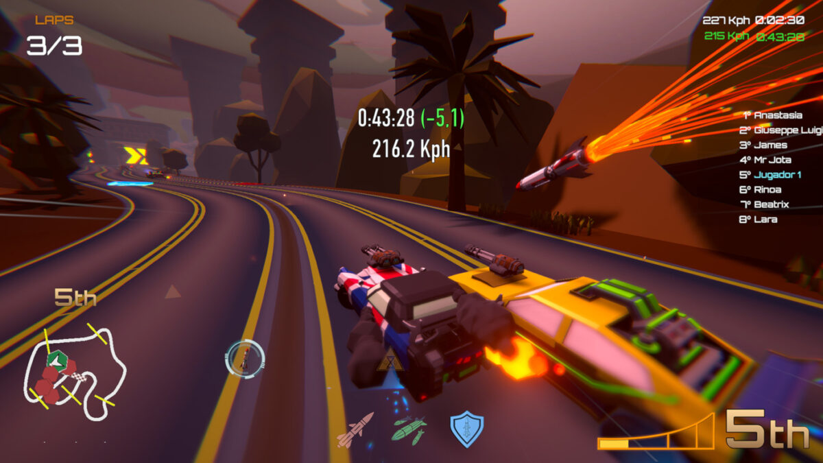 Motor Strike: Racing Rampage released now on Steam Early Access