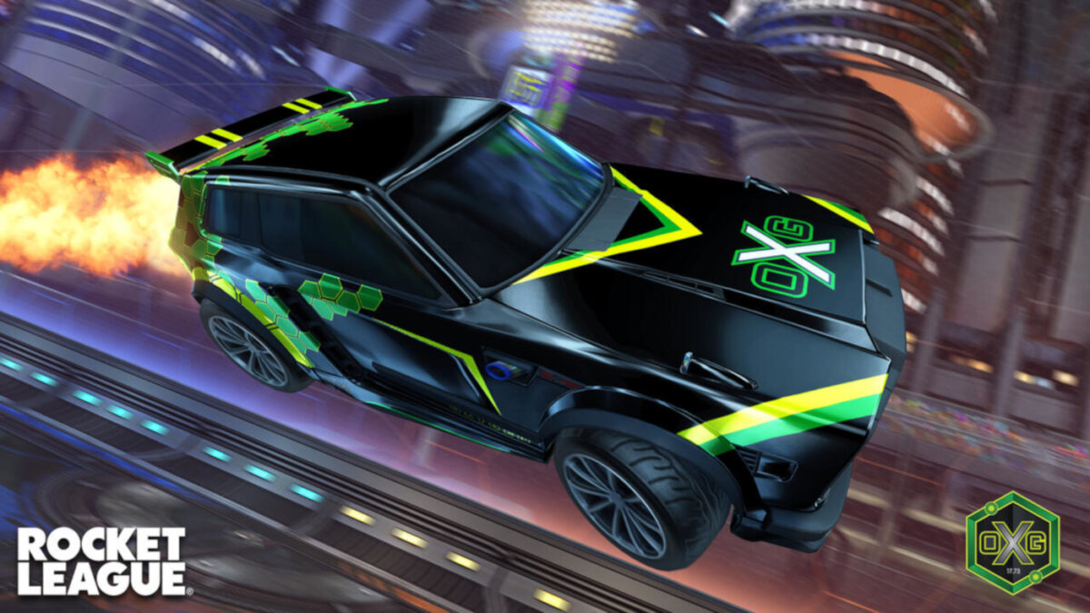 The latest Rocket League update includes Fennec decals for all 18 Esports teams in the Esports shop