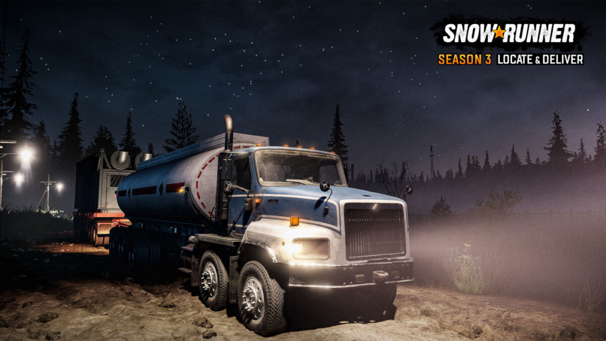 SnowRunner Season 3 is available on PC and consoles...
