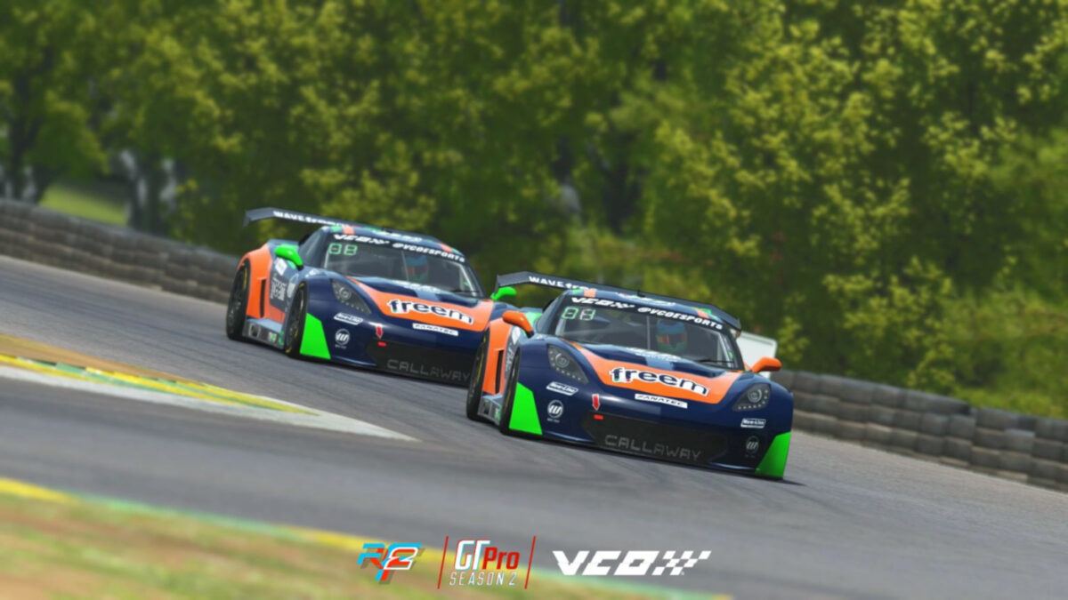 The update should mean closer drafting, with less issues, in the GT3 class