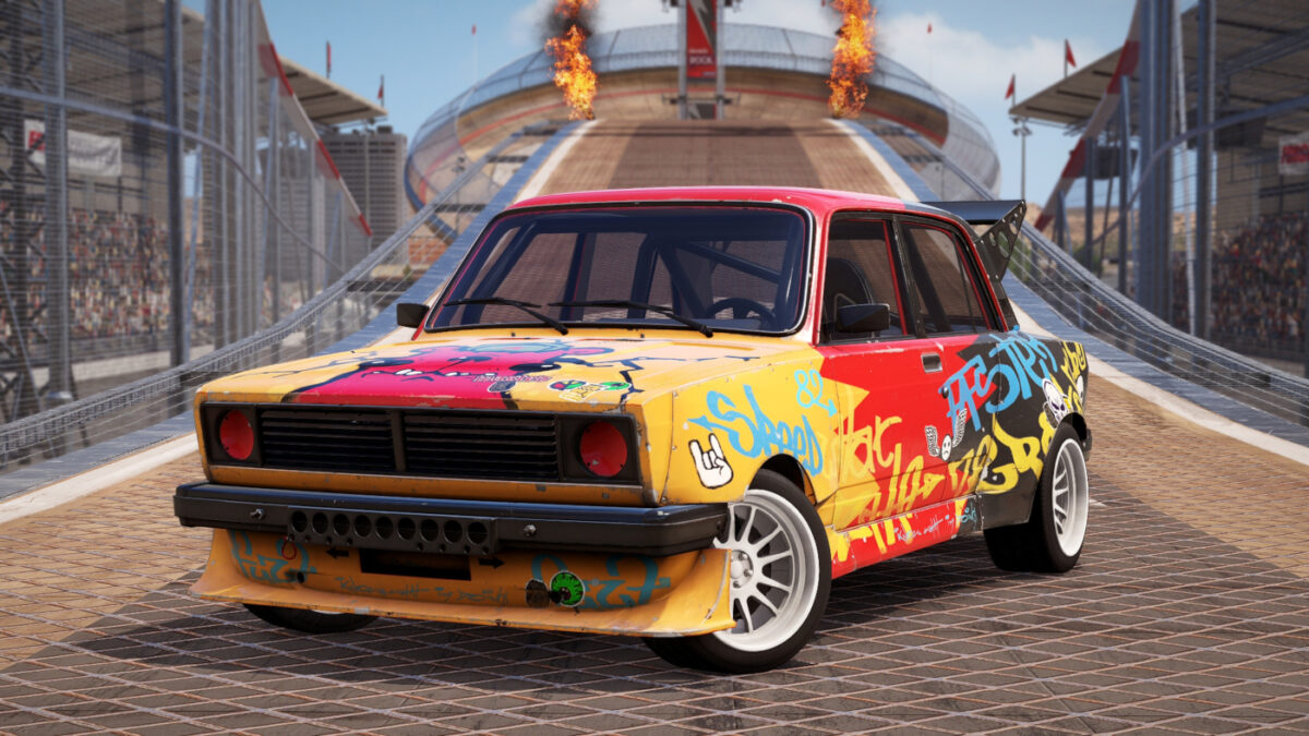 The Gorbie from the Wreckfest Reckless Car Pack DLC