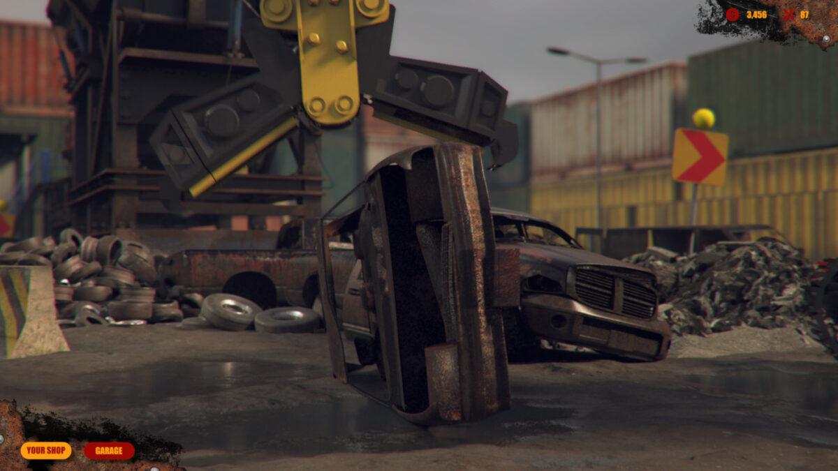 Car Scrapyard Simulator Announced