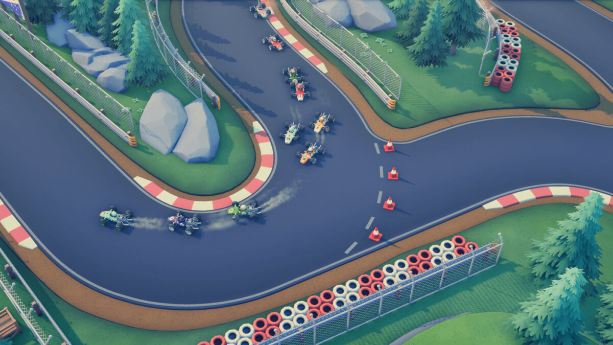 Circuit Superstars Released On Steam Early Access