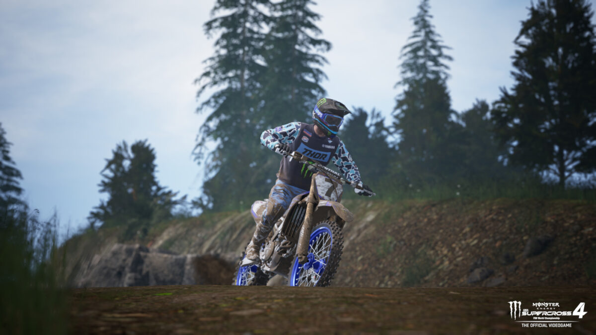 Free roam in the Compound should provide some relaxation in Monster Energy Supercross 4