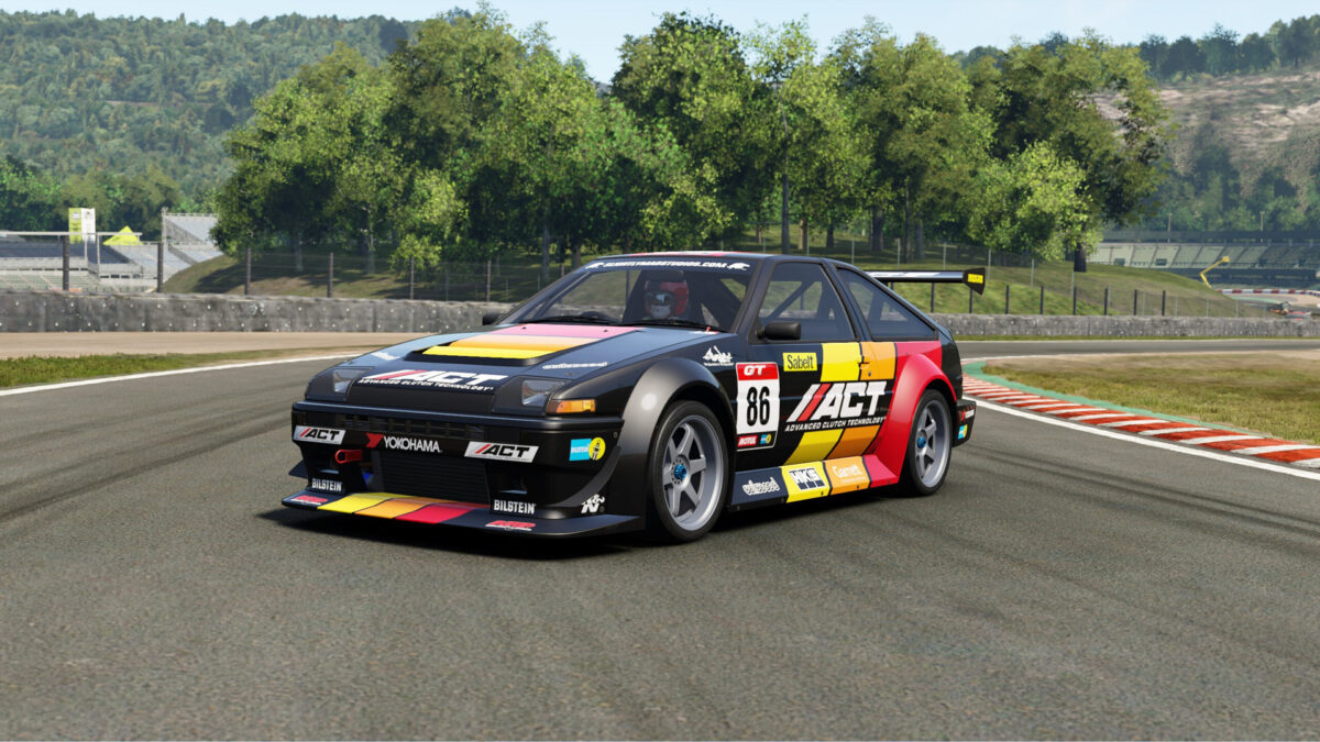 The 1985 Toyota Sprinter Trueno GT Apex AE86 Race Conversion in the Project CARS 3 Power Pack DLC