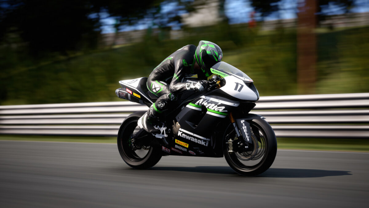Fancy riding a 2005 Kawasaki ZX-6R - Racing Modified? Now you can with the RIDE 4 600cc Passion DLC