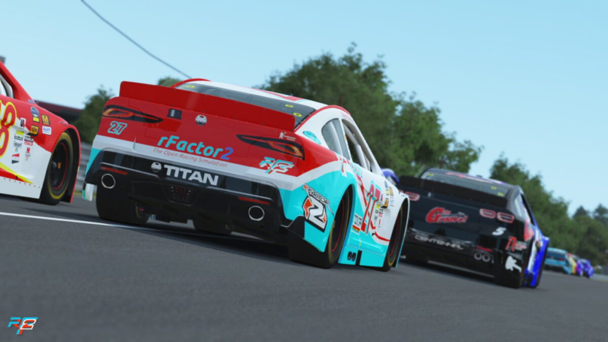Expect tight packs racing together as rfactor 2 adds the SC2018x Stock Car