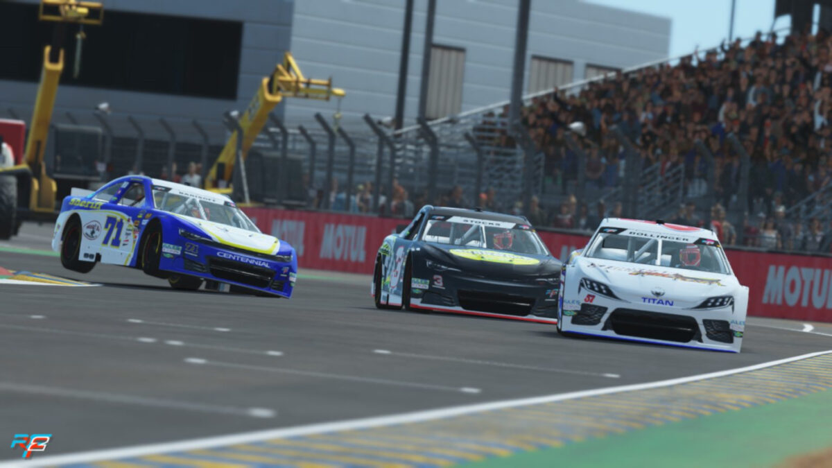The rFactor 2 car list includes everything from open wheel racers to stock cars