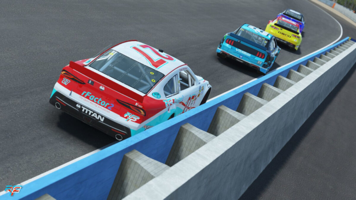 Lower power, different handling and potentially closer racing for oval fans in rFactor 2