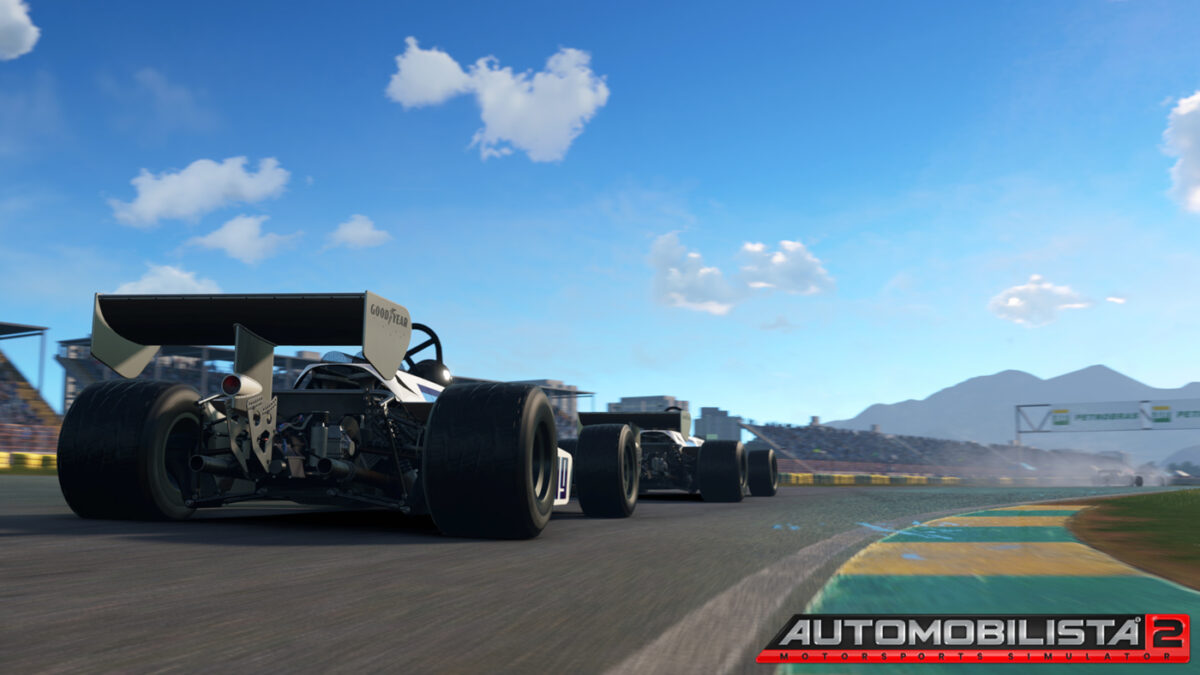 Automobilista 2 Update V1.1.3.5 adds historical layotus for Jacarepagua, along with the classic F1 cars