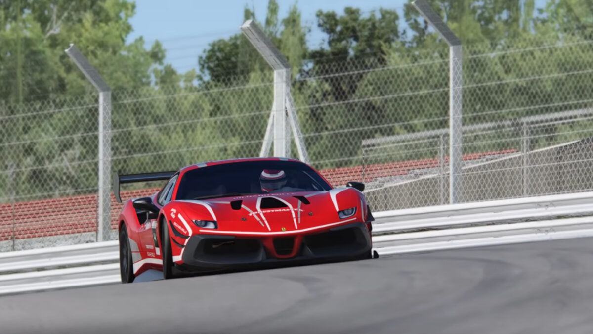Learn some useful tips in the Ferrari Esports Series Brands Hatch Track Guide Video