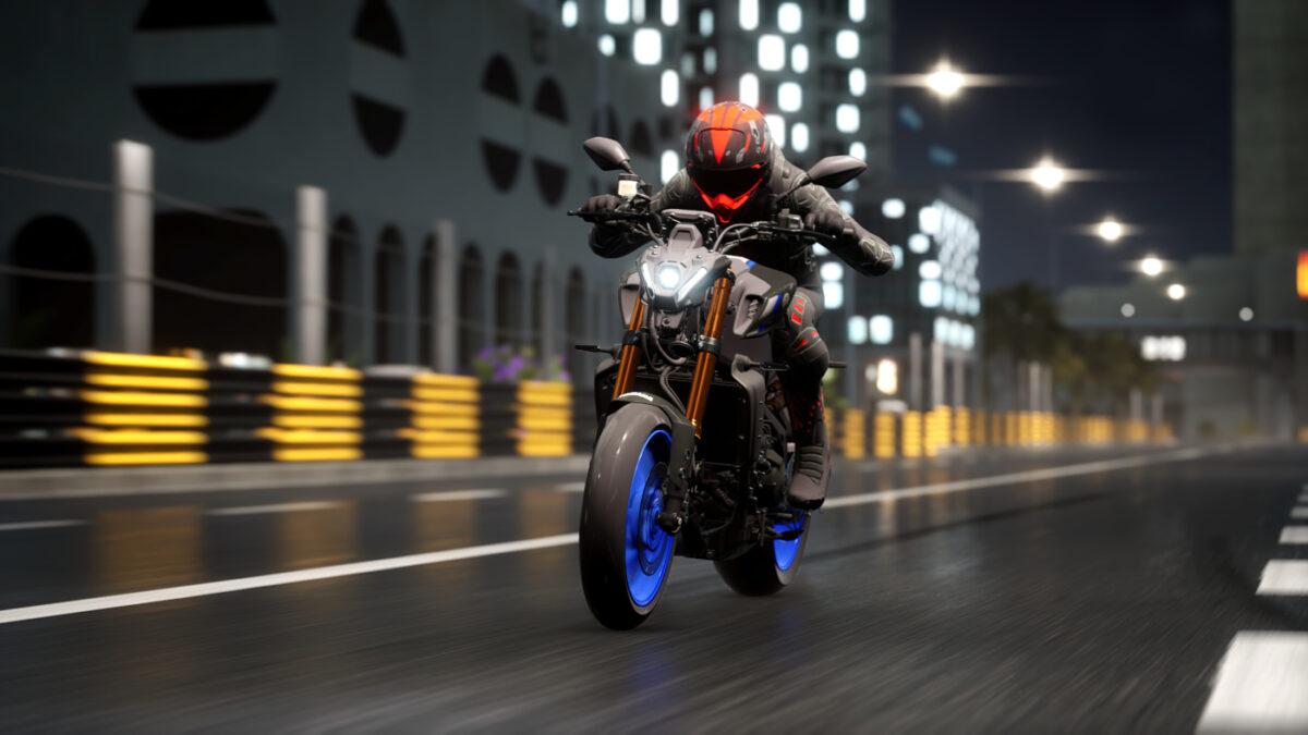 The free RIDE 4 Bonus Pack 08 adds the Yamaha MT-09