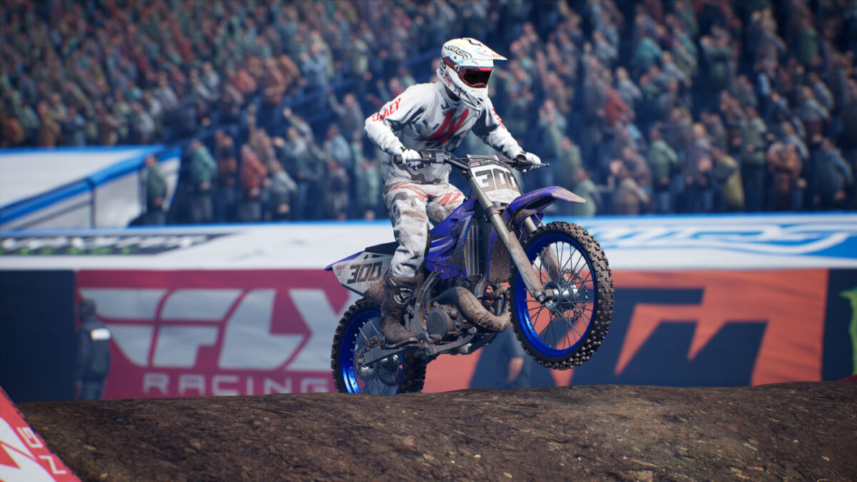 Five two-stroke Supercross bikes are included in the DLC for you to master
