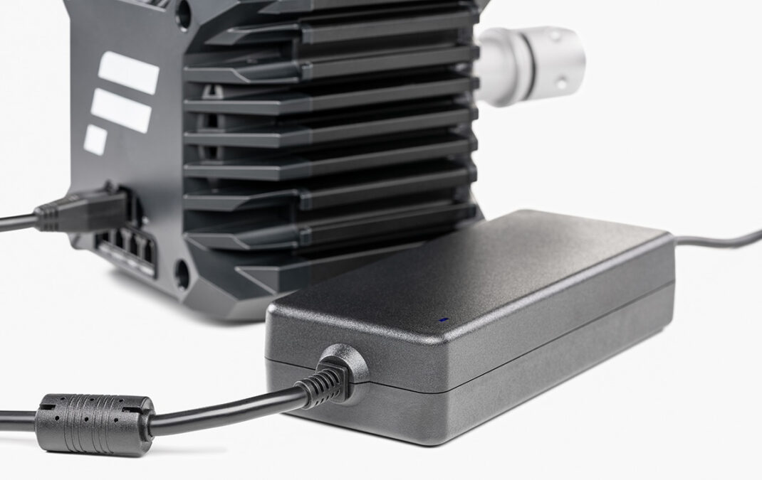 Replacing the standard power supply with the Boost Kit gives the new Fanatec CSL DD wheel base 8Nm peak torque