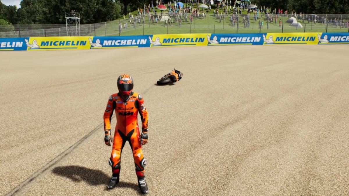 New MotoGP 21 Bike Retrieval Feature Explained
