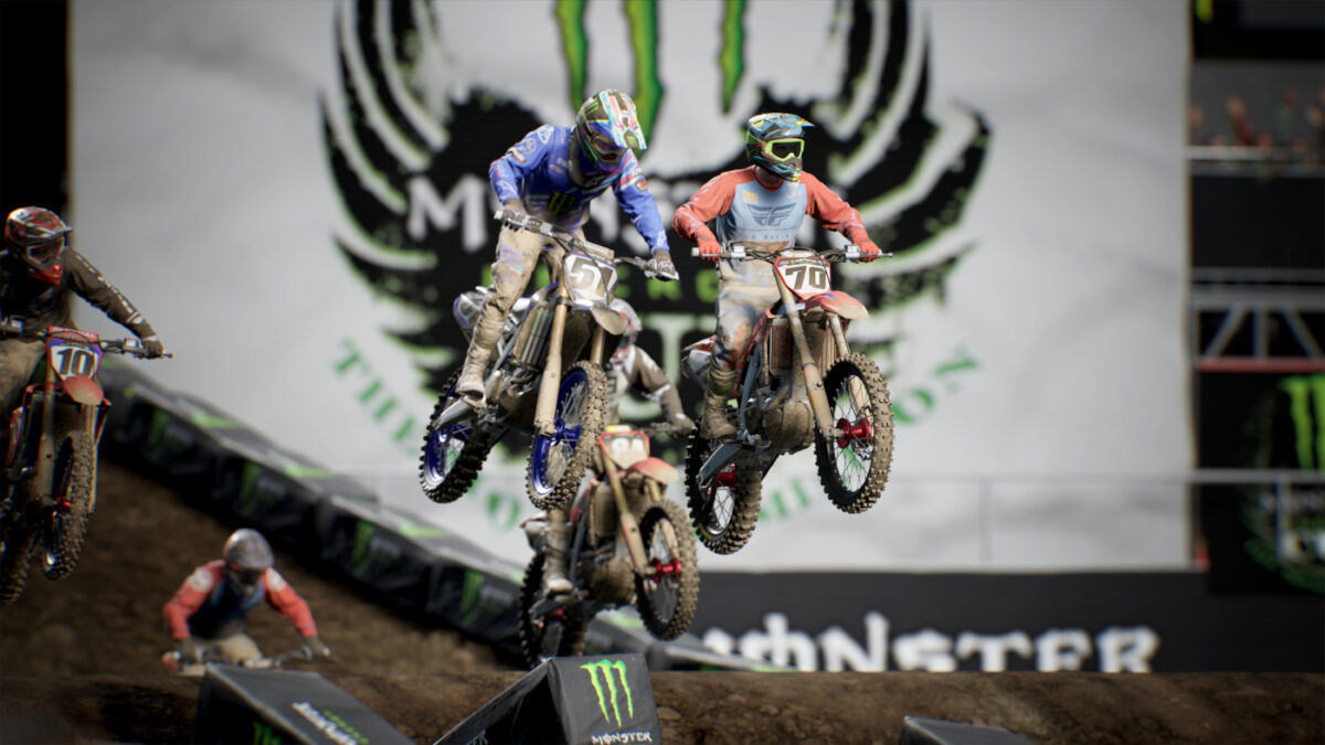 The new Supercross 4 Esports Series and Historical Cup DLC are both available now