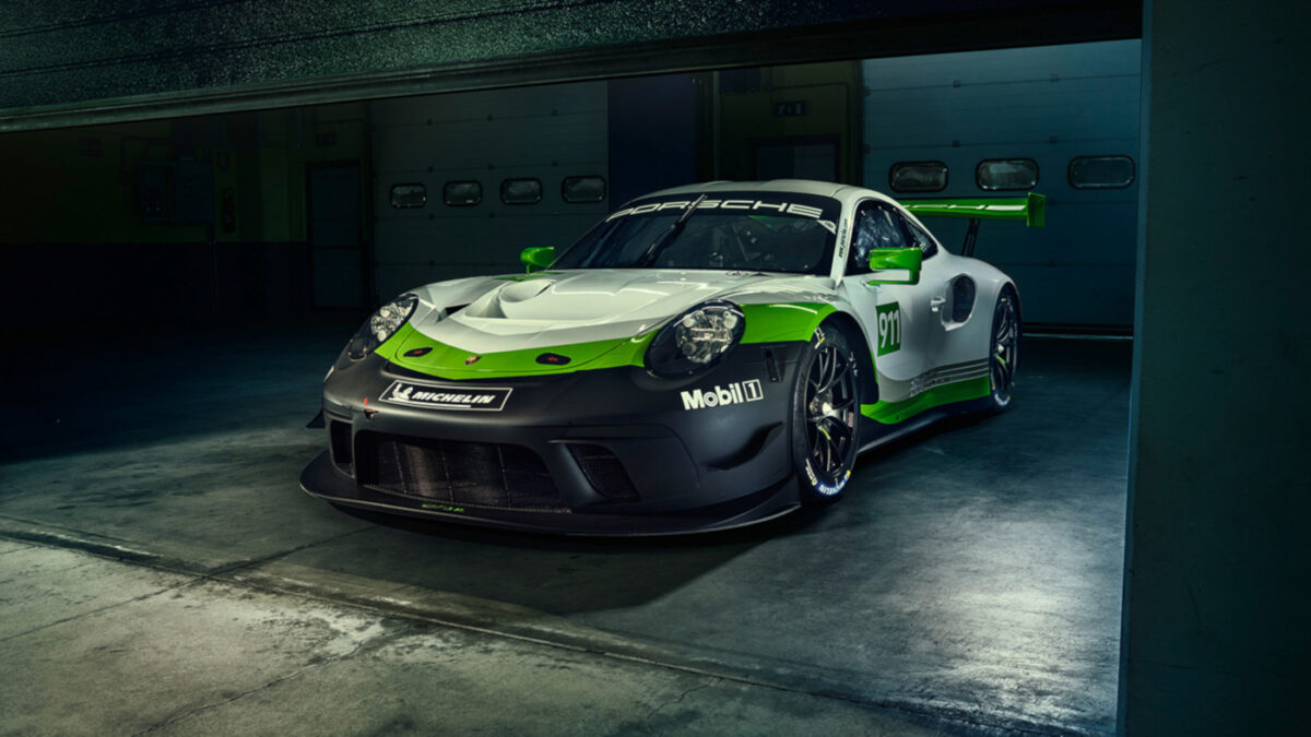 The Porsche 911 GT3 R is coming to iRacing