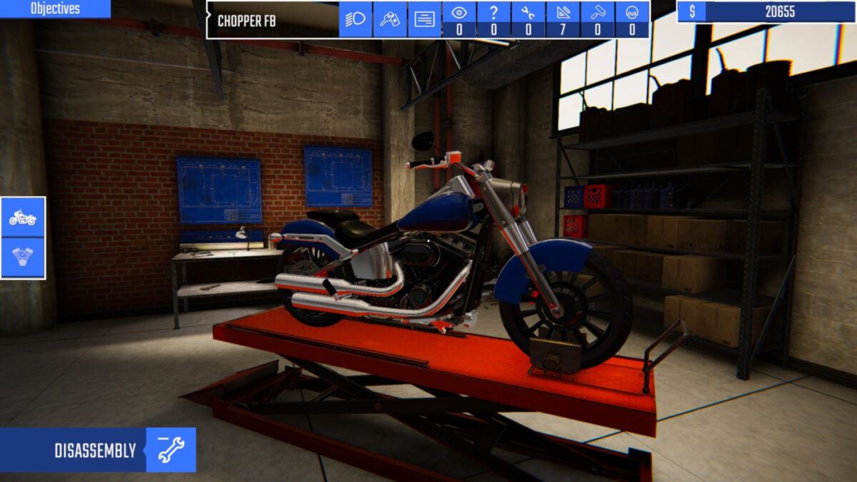 Biker Garage: Mechanic Simulator Is Coming To Consoles