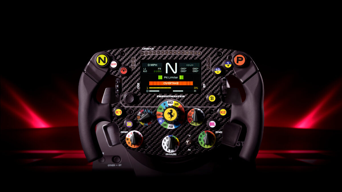 The new Thrustmaster Formula Wheel Ferrari SF1000 Edition does look rather nice...