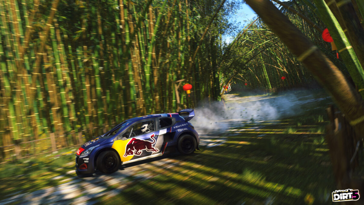 Plenty of new liveries are included in the DIRT 5 Red Bull Revolution update