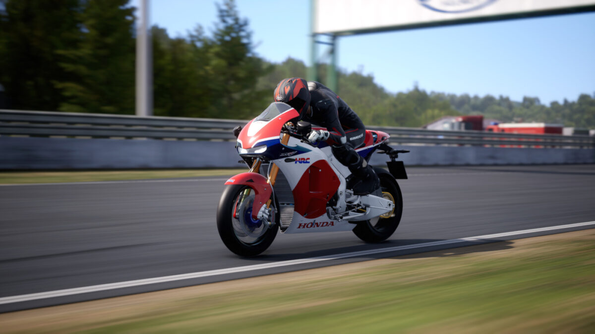 The RIDE 4 The Collector's Pack DLC includes the 2015 Honda RC 213 V-S