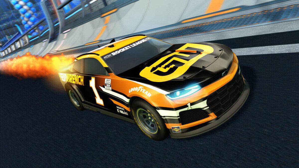 Rocket League Season 3 and NASCAR DLC Out Now - The Chevrolet Camaro