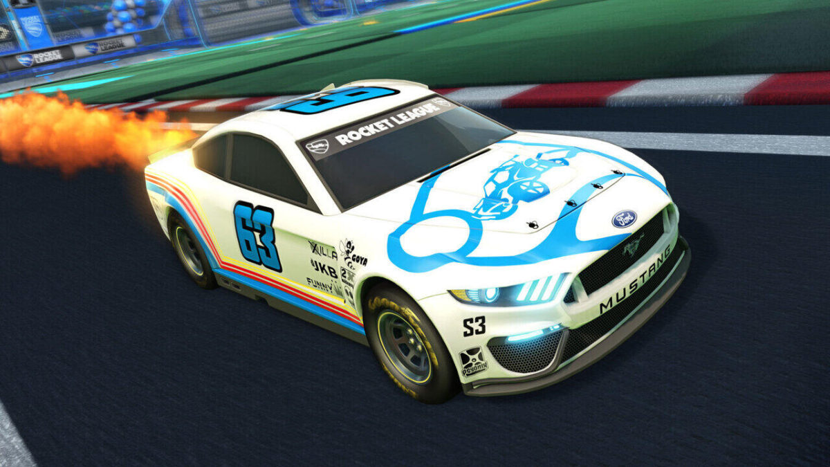 Rocket League Season 3 and NASCAR DLC Out Now - The Ford Mustang