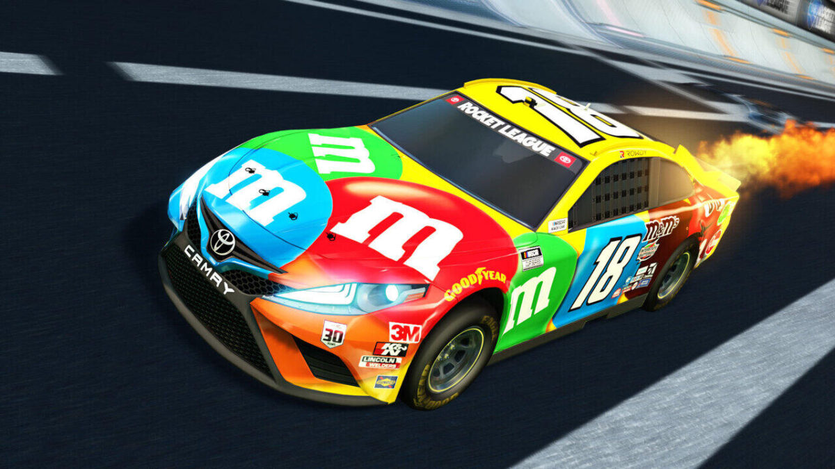 Rocket League Season 3 and NASCAR DLC Out Now - The Toyota Camry