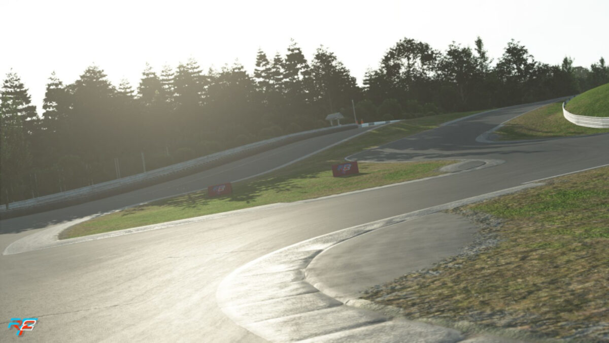 The rFactor 2 Lime Rock Park V3.0 update is a major graphical refresh for the circuit