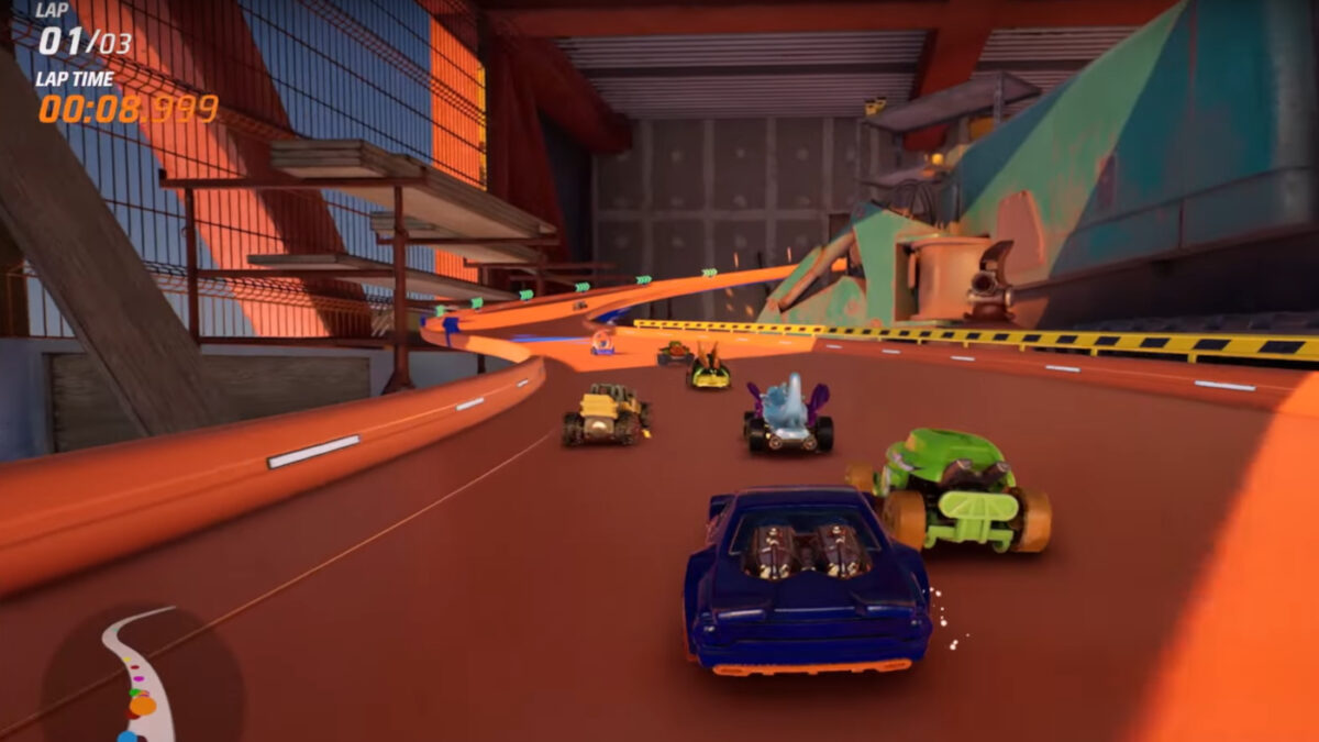 The new Hot Wheels Unleashed Skyscraper Unveil Video shows racing over three levels of construction