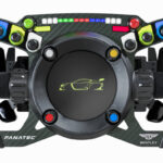 Fanatec Podium Steering Wheel Bentley GT3 Unveiled
