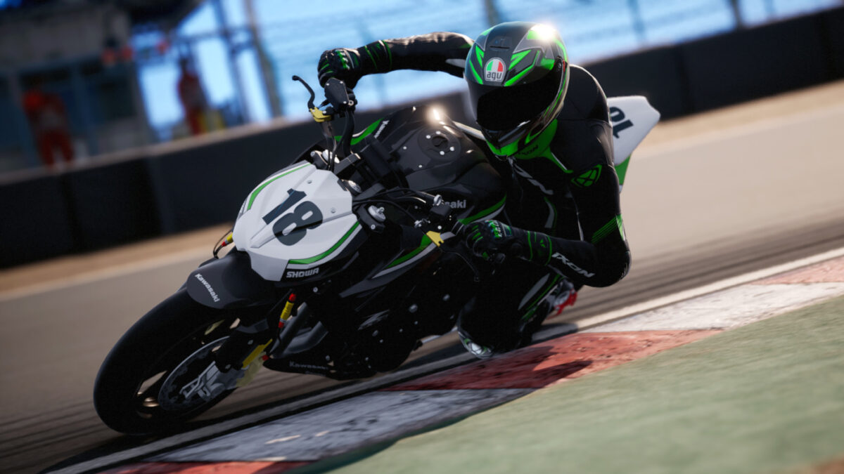 The RIDE 4 Power Naked DLC Pack also includes the Racing Modified Kawasaki Z1000