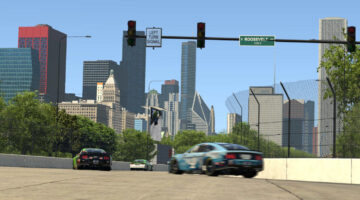 Chicago Street Circuit Released on iRacing